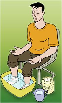 pediluvio piedi rimedi effetti relax