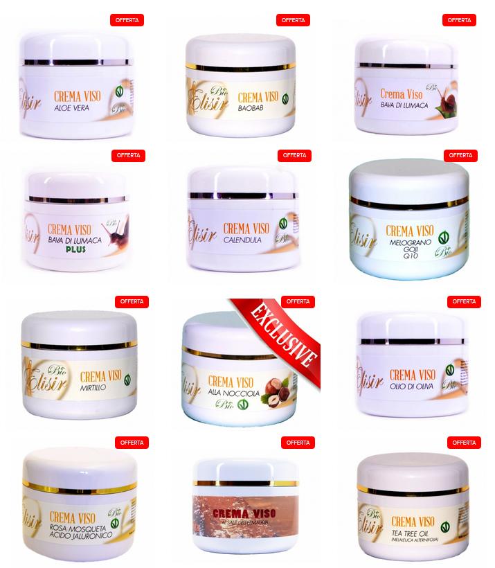 creme viso cosmetica italiana certificata bio veganok