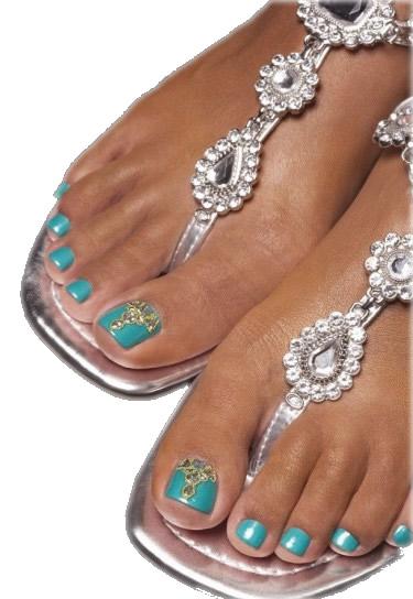 unghie nails nail estate smalti sandali piedi