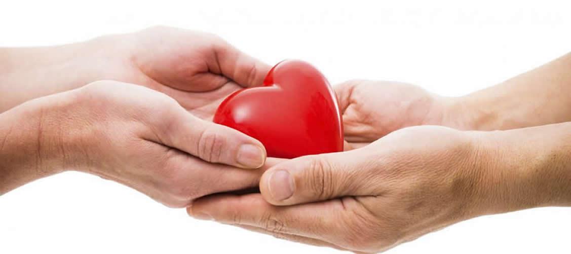 cuore nelle mani amore san valentino regalo omaggi