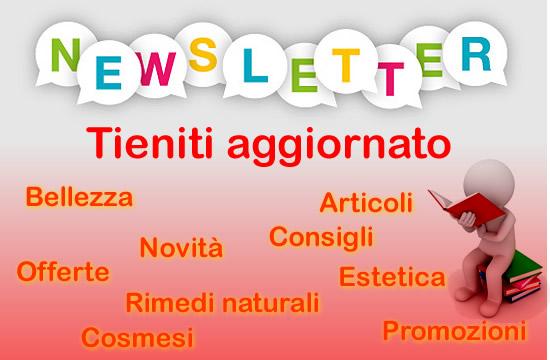 newsletter cosmesi estetica bellezza articoli consigli prodotti