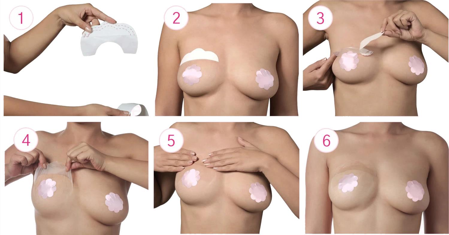 adesivi seno push up cerotti